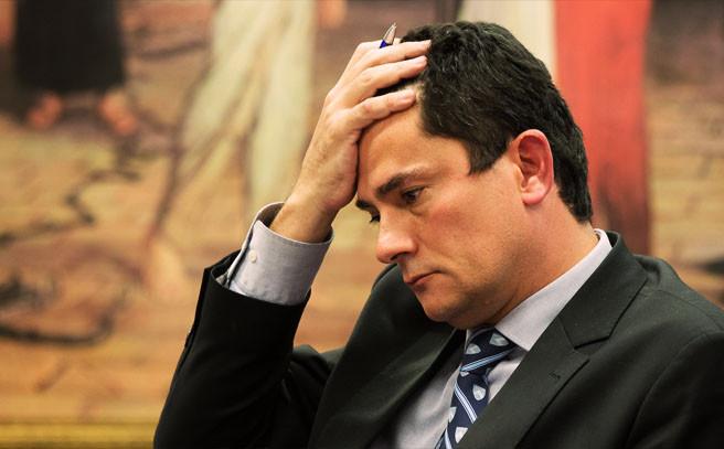 Juiz Moro Envergonhado