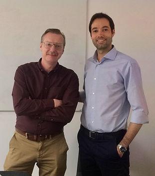 Dr. Gabriele Abbondanza and Dr. Thomas W
