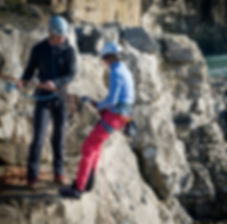 Learn to rock climb outdoors. Rock climbing courses in Dorset, Jurassic Coast. Providing the best outdoor climbing courses in Dorset, near London