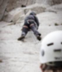 Learn to lead climb outdoors. Rock climbing courses in Dorset, Jurassic Coast. Providing the best outdoor lead climbing courses in Dorset