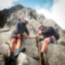 Mountain walking courses based in Snowdonia. Learn scrambling skills. Learn how to navigate in the mountains. Guided walks.