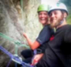 Learn to rock climb outdoors. Rock climbing gift in Dorset, Jurassic Coast, Swanage. Providing the best outdoor rock climbing courses in Dorset
