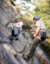 Learn to rock climb outdoors. Rock climbing courses in Dorset, Jurassic Coast, Swanage. Providing the best outdoor climbing courses in Dorset.