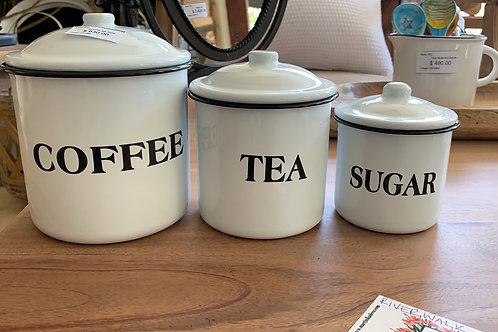 """""""Coffee, tea, sugar"""""""