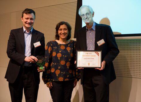 Capricorn Power win New Energy Award
