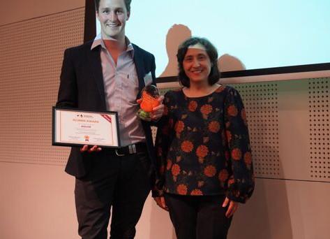 Aglive wins Alumni Award