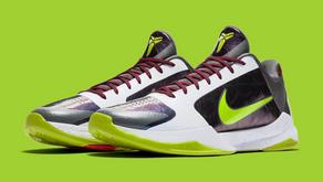 "Confira as imagens oficiais do Nike Zoom Kobe 5 ""Chaos"""