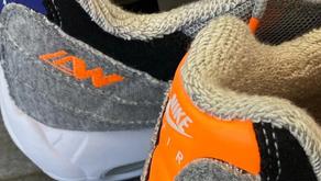 Marca japonesa Loopwheeler e Nike colaboram em dois modelos Air Max inéditos