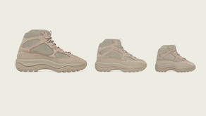 adidas Originals e Kanye West anunciam YZY DSRT BT Salt, YZY DSRT BT Rock e YZY DSRT BT Oil
