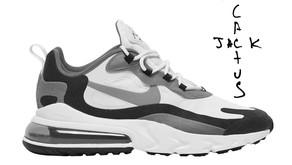 Travis Scott irá lançar sua versão do Nike Air Max 270 React