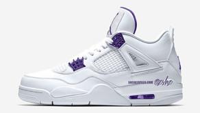 """Air Jordan 4 pode receber uma versão """"Court Purple"""" em 2020"""