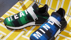 BBC x Adidas NMD Hu - Duas novas colorways