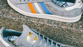 SNS e adidas Originals celebram a cidade de Nova York em novo modelo Campus 80s