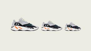 adidas Originals e Kanye West anunciam relançamento global do YEEZY BOOST 700 Wave Runner