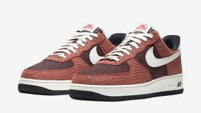Nike prepara outro Air Force 1 em pele de cobra