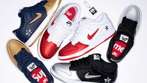 Informações de lançamento do pack Nike SB Dunk x Supreme no Brasil