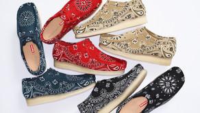 Supreme x Clarks Originals lançam nova coleção de moccasins Wallabee