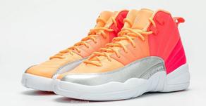 "Air Jordan 12 Retro GS ""Hot Punch""—exclusivo para elas"