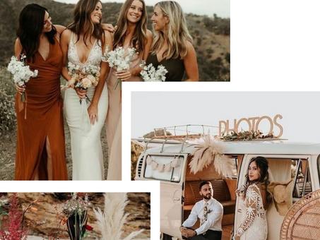 Wedding inspiration / Desert boho