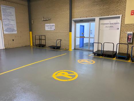 Car acces garage