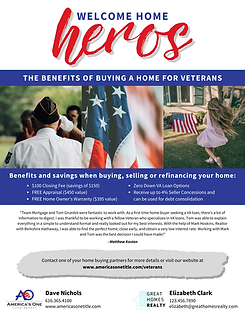 The Benefits of Buying a home for Vetera