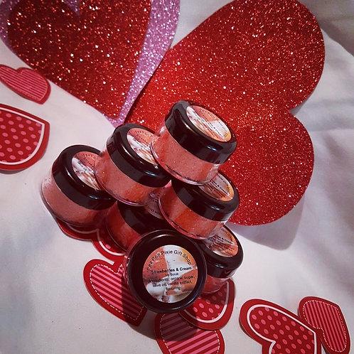 Strawberries and Cream Lip Scrub