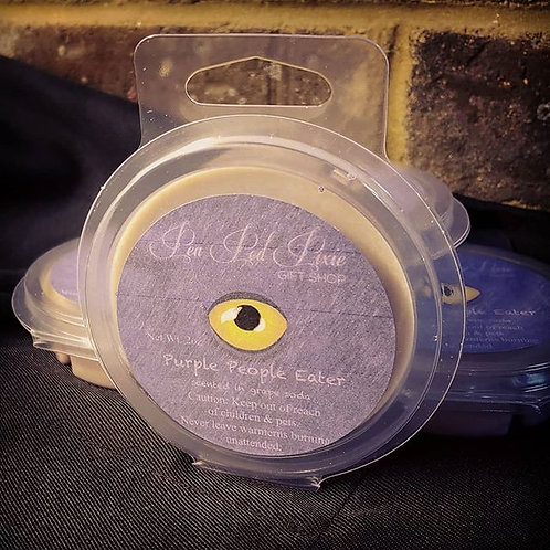 Purple People Eater wax tart
