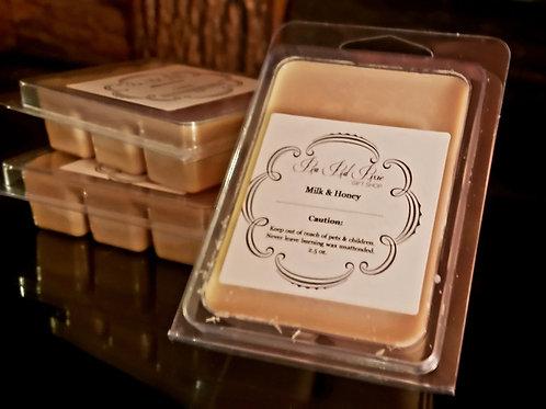 Milk & Honey wax tart