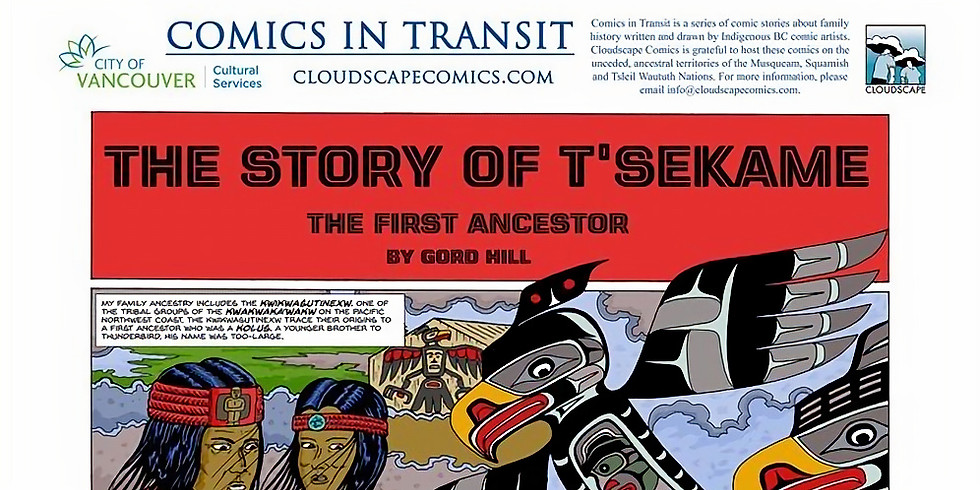 VANCOUVER- Comics in Transit: Indigenous Family History Exhibition