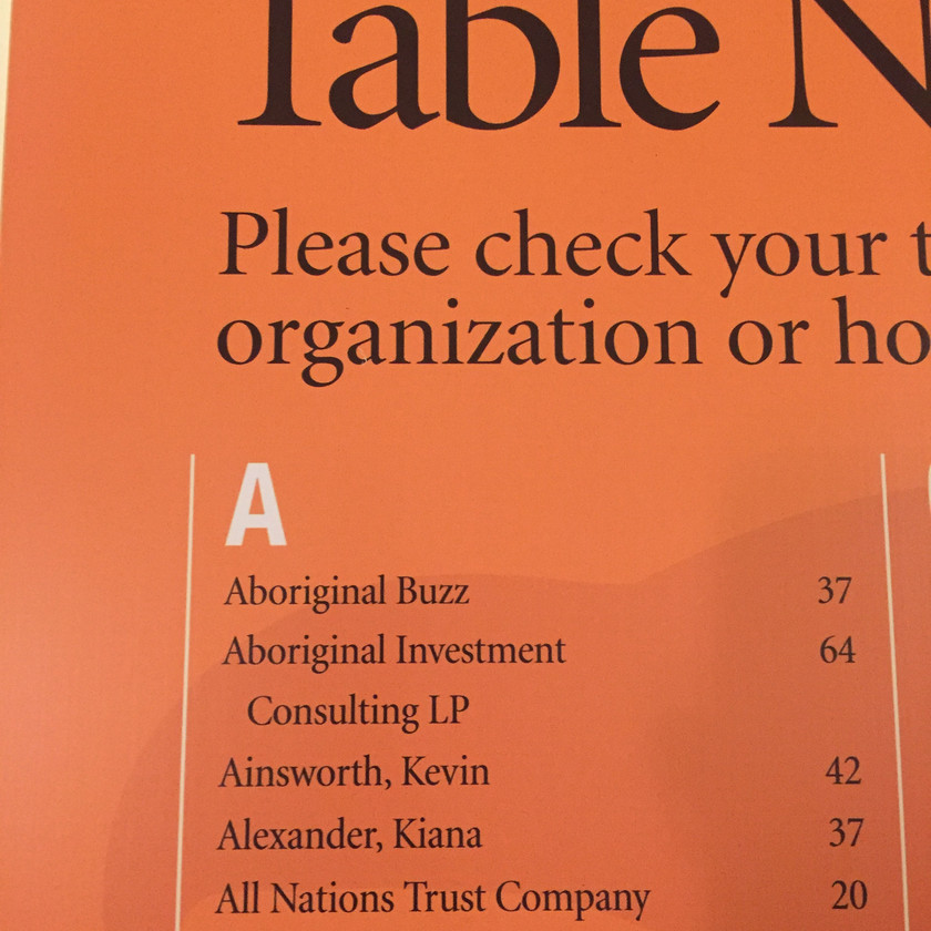 Our business name has it's perks... #1 on the list of guests!