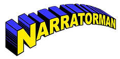 Narrator Man Voice Over Logo
