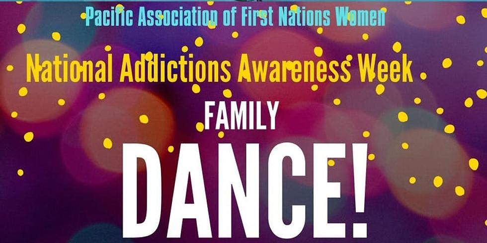 VANCOUVER- National Addictions Awareness Week Family Dance