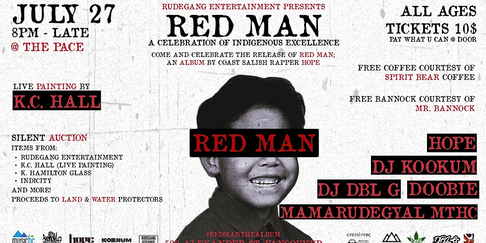 VANCOUVER- Red Man