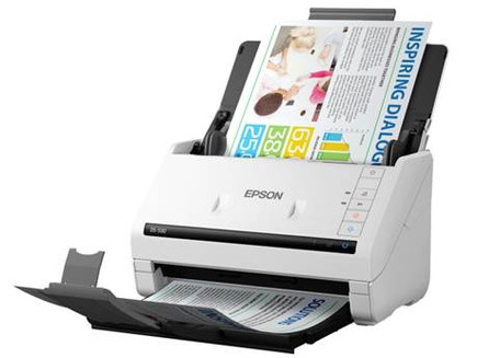 Epson's New Workforce Color Scanner : DS-530