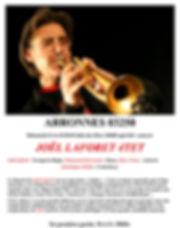 concert AMCT Arronnes 2018 jazz et vill