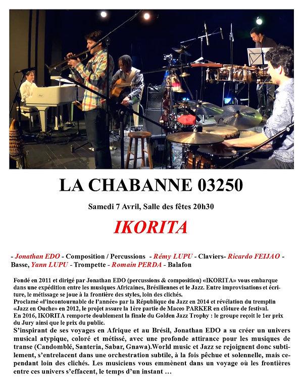 concert AMCT la Chabanne 2018 jazz et village