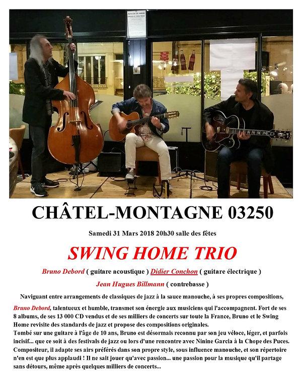 concert AMCT Chatel Montagne 2018 jazz et village