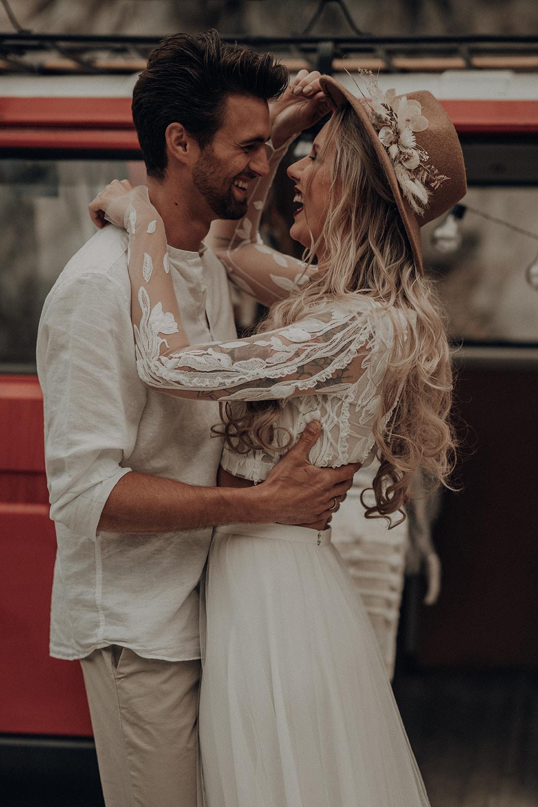 Bulli Hochzeit #BOHO-STYLE#
