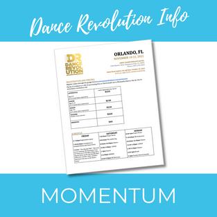 Dance Revolution Information