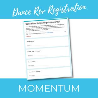 Dance Rev Registration