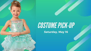 Costume Pick Up Sat. May 16