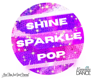 """""""Shine. Sparkle. Pop."""" jazzy hip hop fusion class for kids ages 6 to 9"""
