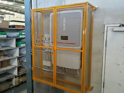 Inverter Security Cage