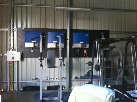 Home Gym Installation - Semi Rural