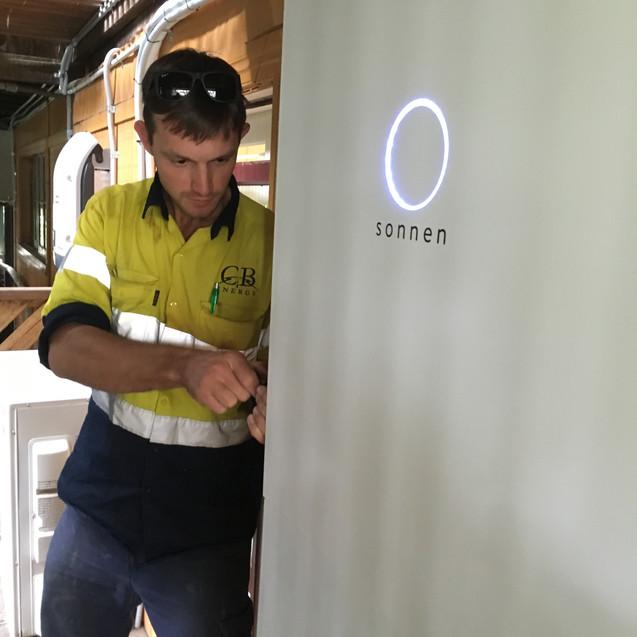 Sonnen Batterie Installation