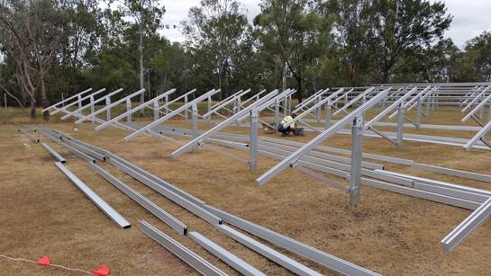 Solar Utility Farm