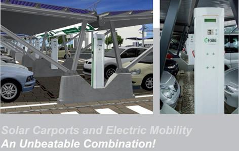 Solar Carport Concept Design