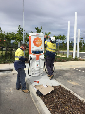 EV Charger Install