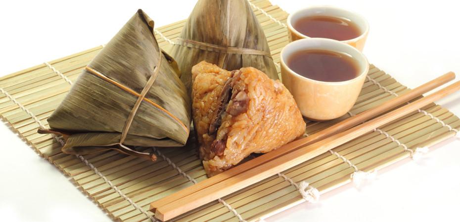 comida tradicion festival zongzi bote dragon china