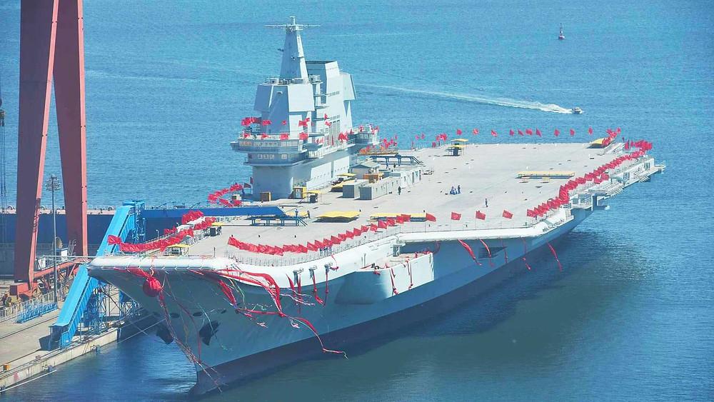segundo portaaviones china armada naval mar meridional